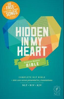 Hidden in My Heart Scripture Memory Bible NLT