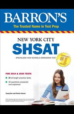 Shsat: New York City Specialized High Schools Admissions Test