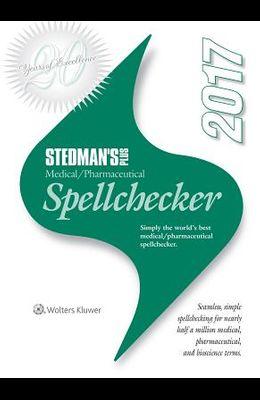 Stedman's Plus 2017 Medical/Pharmaceutical Spellchecker (Standard)