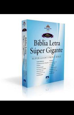 Spanish Super Giant Print Bible-Rvr 1960