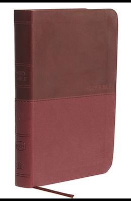 NKJV, Value Thinline Bible, Compact, Imitation Leather, Burgundy, Red Letter Edition