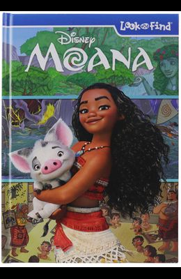 Disney Moana: Look and Find