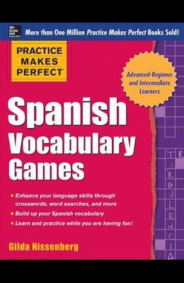 Spanish Vocabulary Games