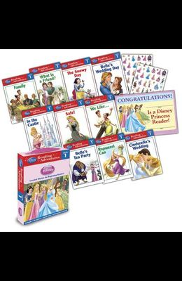 Disney Princess Reading Adventures Disney Princess Level 1 Boxed Set [With 86 Stickers and Parent Letter, and Achievement Certificate]