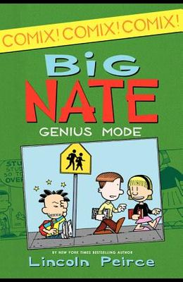 Big Nate: Genius Mode [With Poster]
