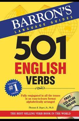 501 English Verbs [With CDROM]
