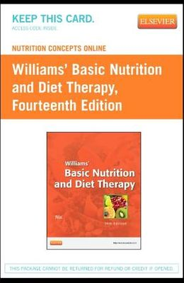Nutrition Concepts Online for Williams' Basic Nutrition and Diet Therapy (Access Code)