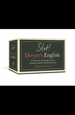 Stet! Dreyer's English: A Game for Language Lovers, Grammar Geeks, and Bibliophiles