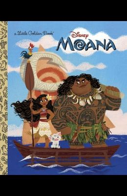 Moana Little Golden Book