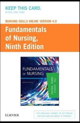 Nursing Skills Online Version 4.0 for Fundamentals of Nursing (Access Card)