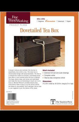Fine Woodworking's Dovetails Teas Box Plan