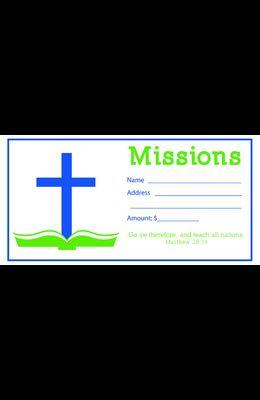 Value Offering Envelope (Pk of 100) - Missions