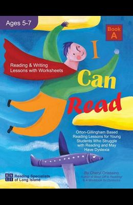 I Can Fly - Reading Program - A, With FREE Online Games: Orton-Gillingham Based Reading Lessons for Young Students Who Struggle with Reading and May H