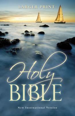 Larger Print Bible-NIV
