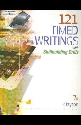 121 Timed Writings: With Skillbuilding Drills