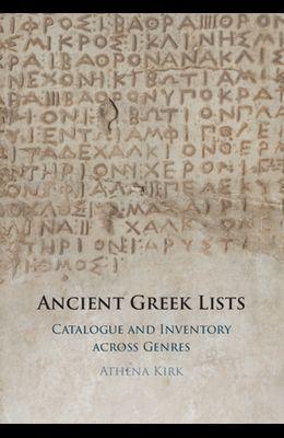 Ancient Greek Lists
