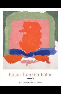 Helen Frankenthaler Notes: 20 Notecards and Envelopes