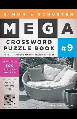 Simon & Schuster Mega Crossword Puzzle Book #9, Volume 9