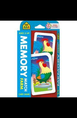 Memory Match Farm Card Game