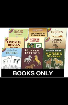 Little ACT Bk Horses Replen Pack 135 Bks