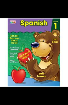 Spanish Workbook, Grade 1