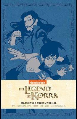 The Legend of Korra Hardcover Ruled Journal