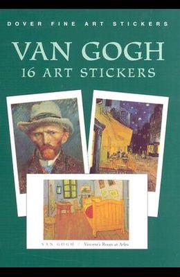 Van Gogh: 16 Art Stickers