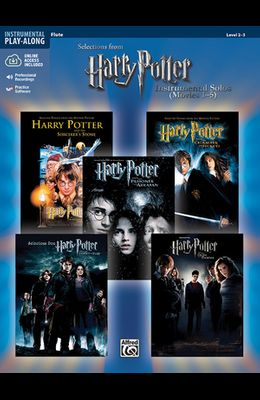Harry Potter Instrumental Solos (Movies 1-5): Flute, Book & Audio/Software [With CD]