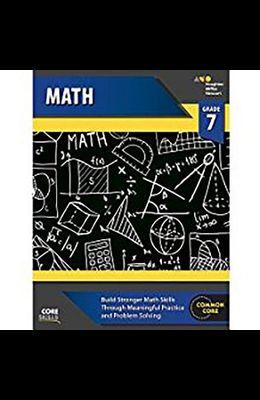 Steck-Vaughn Core Skills Mathematics: Workbook Grade 7