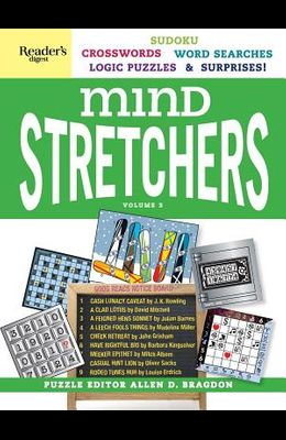 Reader's Digest Mind Stretchers Puzzle Book Vol. 3, 3: Number Puzzles, Crosswords, Word Searches, Logic Puzzles and Surprises