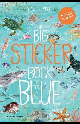 The Big Sticker Book of Blue