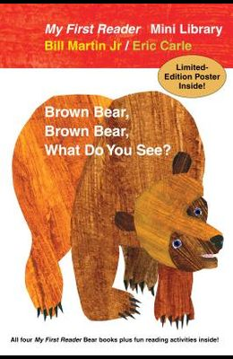 Bear Book Readers Paperback Boxed Set: All Four My First Reader Bear Books, Plus Fun Reading Activities and Limited-Edition Poster