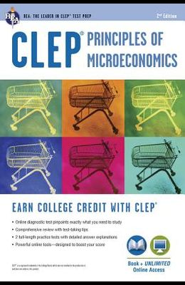 Clep(r) Principles of Microeconomics Book + Online