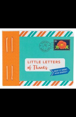 Little Letters of Thanks: (thankful Gifts, Personalized Thank You Cards, Thank You Notes)