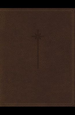 NIV, Journal the Word Bible, Imitation Leather, Brown, Red Letter Edition, Comfort Print: Reflect, Take Notes, or Create Art Next to Your Favorite Ver