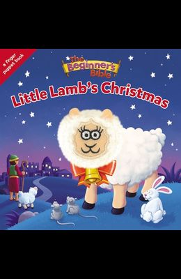 The Beginner's Bible Little Lamb's Christmas: A Finger Puppet Board Book