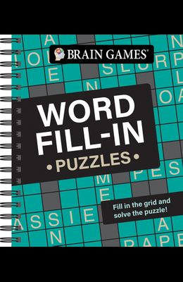 Brain Games - Word Fill-In Puzzles