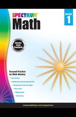 Spectrum Math Workbook, Grade 1