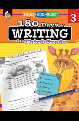 180 Days of Writing for Third Grade: Practice, Assess, Diagnose