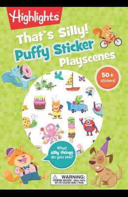 That's Silly!(tm) Puffy Sticker Playscenes