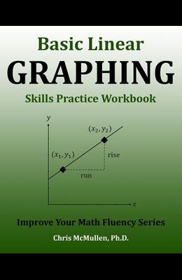 Basic Linear Graphing Skills Practice Workbook: Plotting Points, Straight Lines, Slope, y-Intercept & More