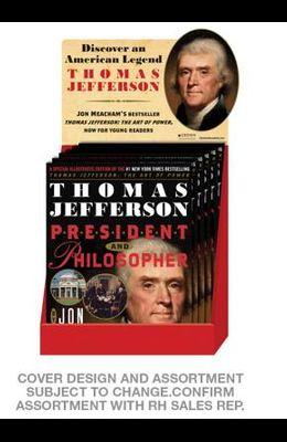 Thomas Jefferson: President & Philosopher 6-Copy Counter Display