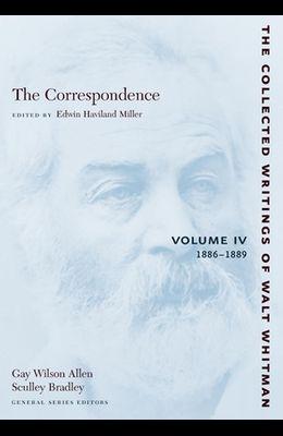 The Correspondence: Volume IV: 1886-1889