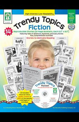 Trendy Topics: Fiction [With CDROM]