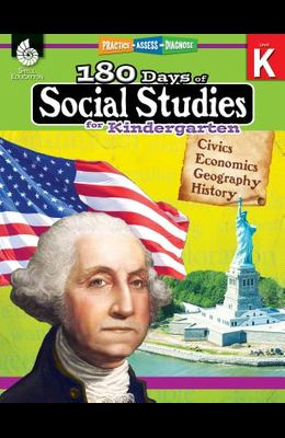 180 Days of Social Studies for Kindergarten: Practice, Assess, Diagnose