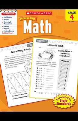Scholastic Success with Math: Grade 4 Workbook