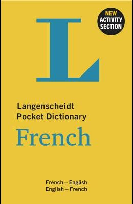 Langenscheidt Pocket Dictionary French: French-English/English-French