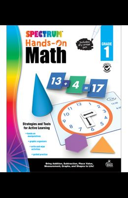 Spectrum Hands-On Math, Grade 1