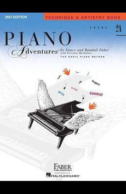 Level 2a - Technique & Artistry Book: Piano Adventures