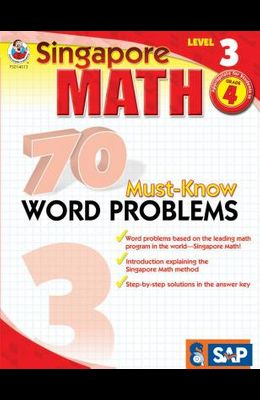 70 Must-Know Word Problems, Grade 4